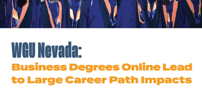 WGU Nevada: Business Degrees Online Lead to Large Career Path Impacts 2