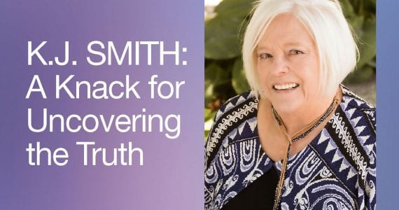K.J. Smith, it's never too late to find your passion